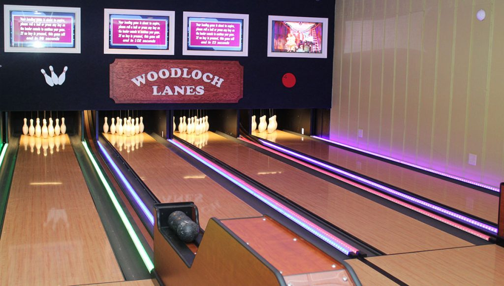 Mini Bowling!   Woodloch's The EDGE